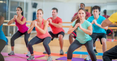 aerobics women technique